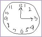 draw a clock